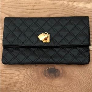Black Leather Marc Jacobs Clutch